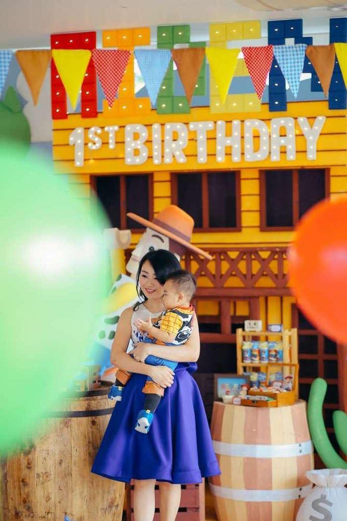 Toy Story Birthday Party on Kara's Party Ideas | KarasPartyIdeas.com (10)