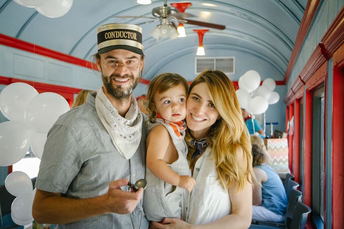 Vintage Little Golden Trains Birthday Party on Kara's Party Ideas | KarasPartyIdeas.com (14)