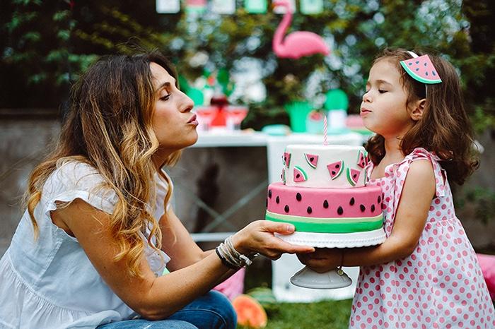 Watermelon Birthday Party on Kara's Party Ideas | KarasPartyIdeas.com (12)