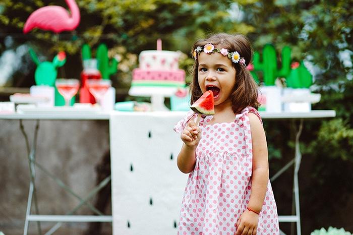 Watermelon Birthday Party on Kara's Party Ideas | KarasPartyIdeas.com (7)