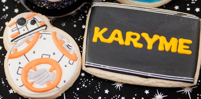 Star Wars Birthday Party on Kara's Party Ideas | KarasPartyIdeas.com