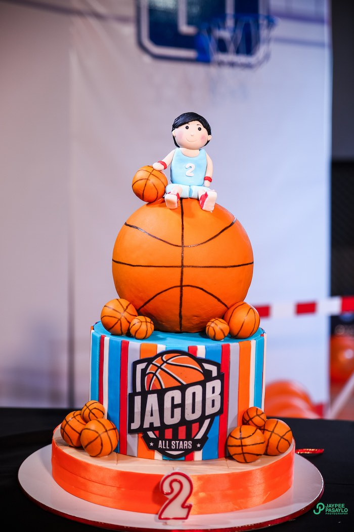 Basketball Court Cake Ideas