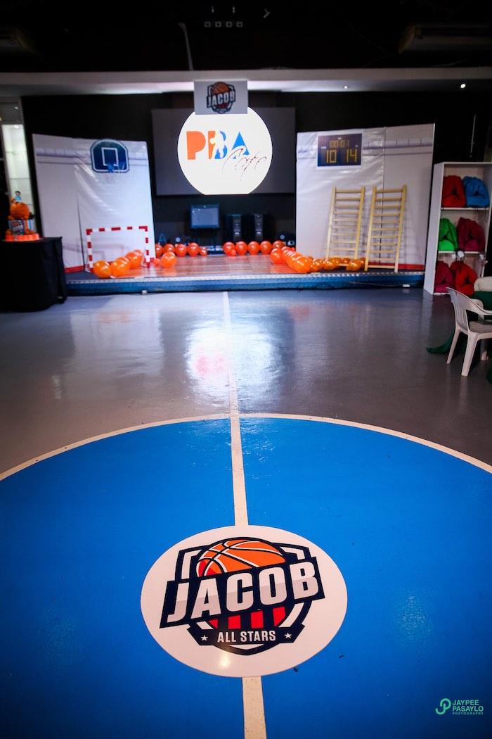 Kara's Party Ideas All Star Basketball Birthday Party ...