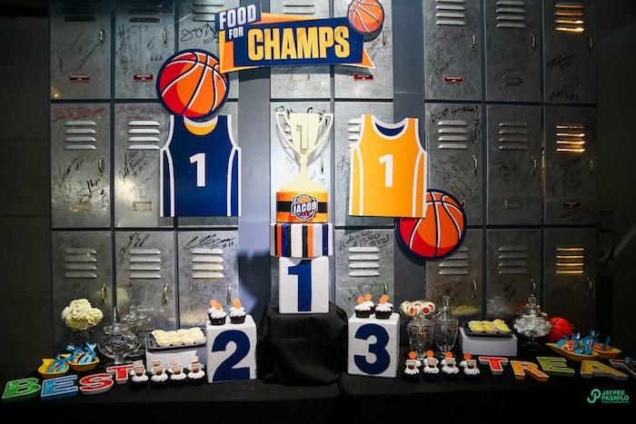 Kara S Party Ideas All Star Basketball Birthday Party