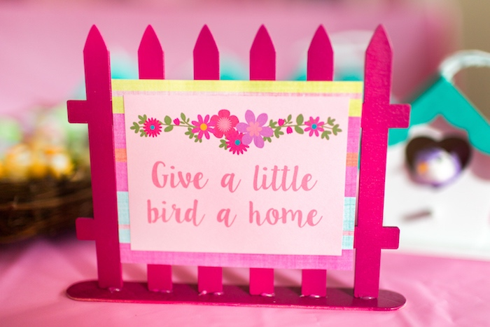 Picket fence activity label from an American Girl Doll WellieWishers Garden Birthday Party on Kara's Party Ideas | KarasPartyIdeas.com (27)