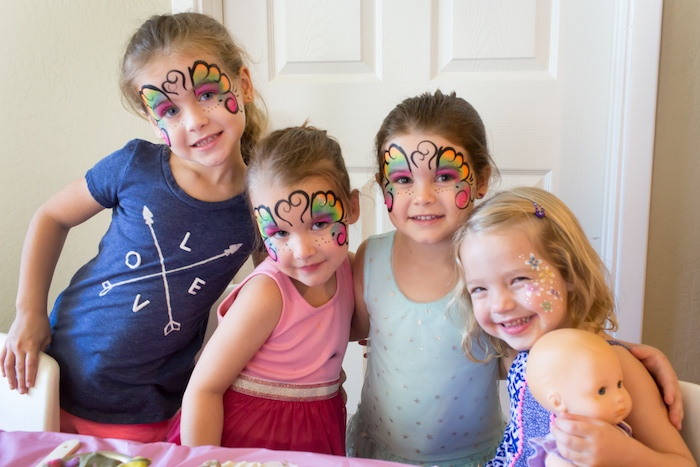 American Girl Doll WellieWishers Garden Birthday Party on Kara's Party Ideas   KarasPartyIdeas.com (21)