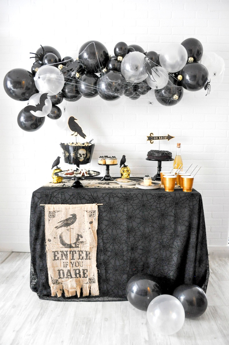 Boneyard Skull Halloween Party by Kara Allen | Kara's Party Ideas for Party City
