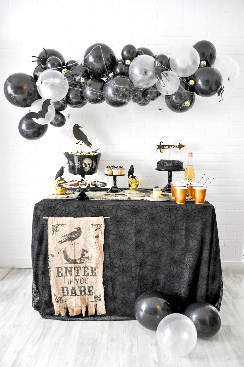 Boneyard Skull Halloween Party by Kara Allen | Kara's Party Ideas for Party City