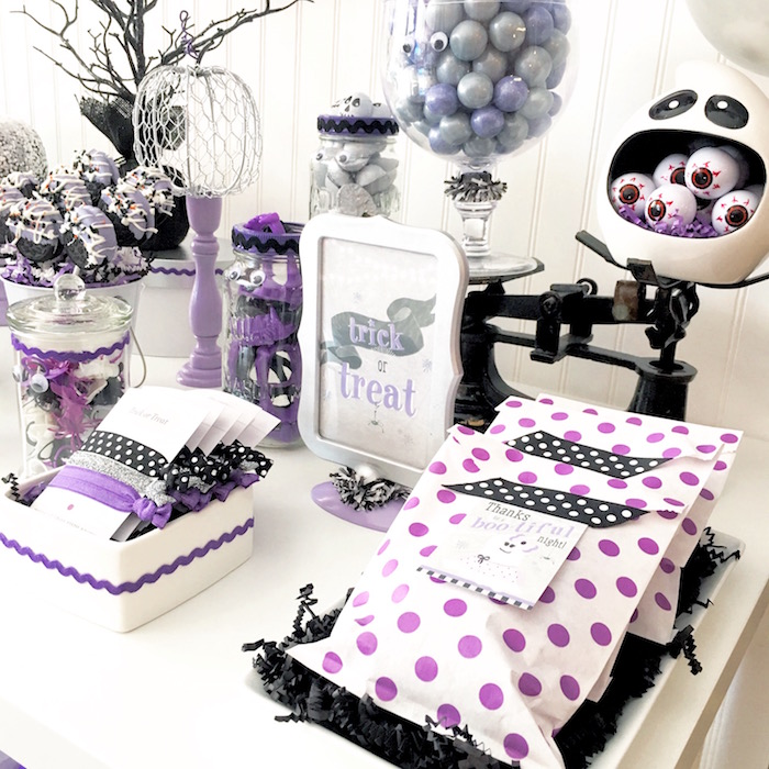 Boo tiful Ball Halloween Ghouls Night Out Party via Kara's Party Ideas | KarasPartyIdeas.com (10)
