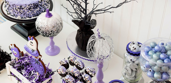 Boo tiful Ball Halloween Ghouls Night Out Party via Kara's Party Ideas | KarasPartyIdeas.com (2)