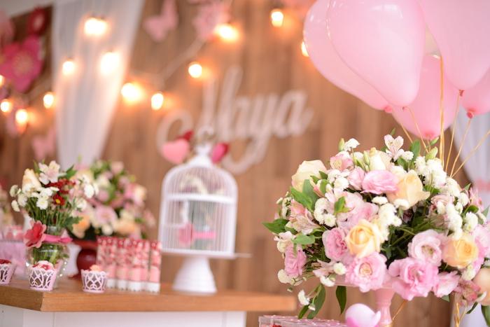 Kara 39 S Party Ideas Flutter By Butterfly Garden Party