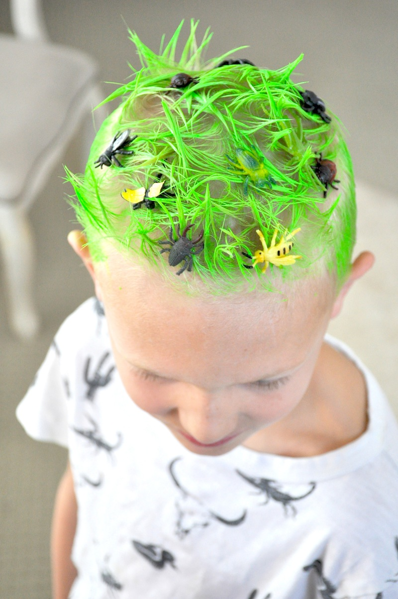 Kara S Party Ideas Crazy Hair Day Ideas Surf S Up Bugs