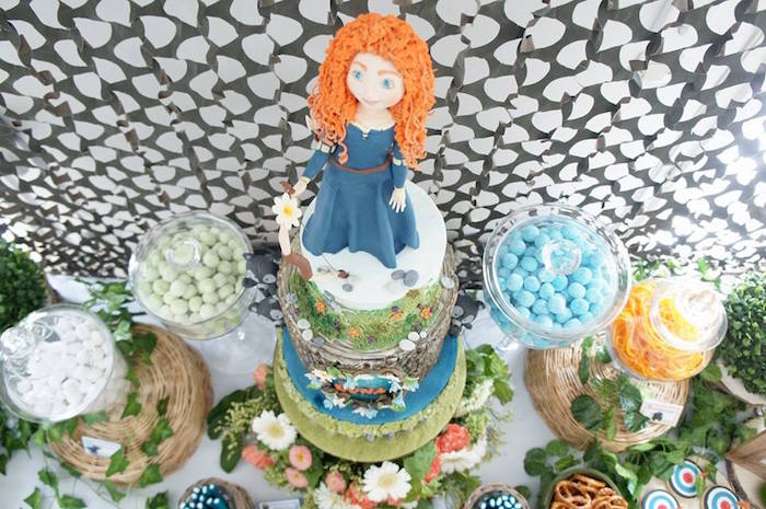 Disney's Brave Themed Birthday Party on Kara's Party Ideas | KarasPartyIdeas.com (7)