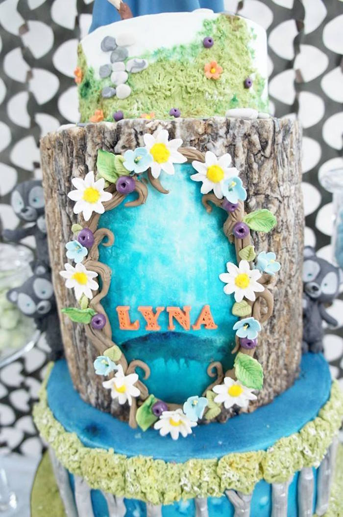 Cake tier from a Disney's Brave Themed Birthday Party on Kara's Party Ideas | KarasPartyIdeas.com (5)