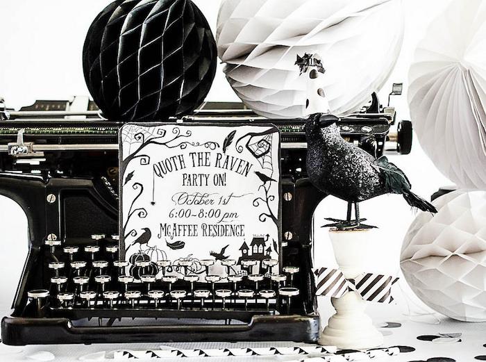 Edgar Allen Poe Inspired Halloween Party on Kara's Party Ideas | KarasPartyIdeas.com (6)