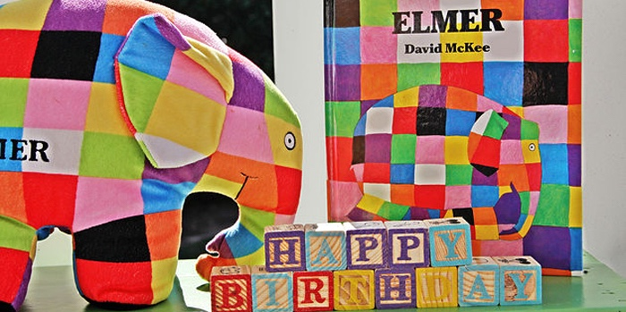 Elmer the Elephant Rainbow Birthday Party on Kara's Party Ideas | KarasPartyIdeas.com (2)