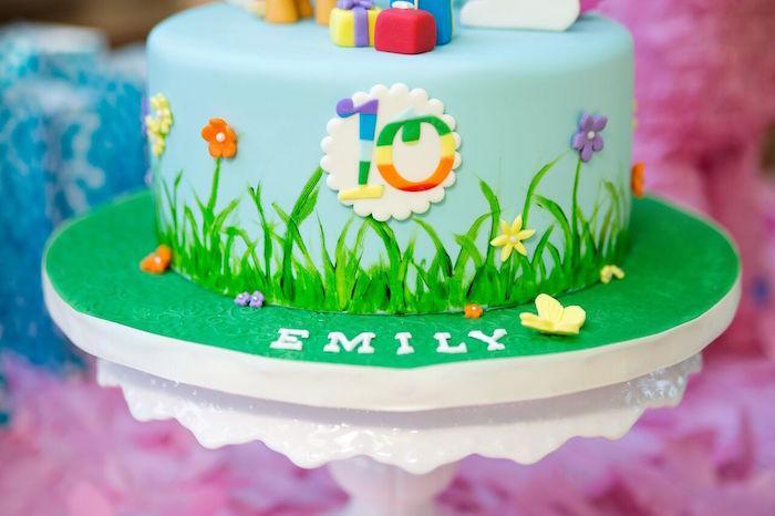 Kara39s Party Ideas Glam Floral My Little Pony Birthday