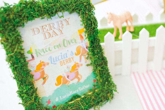 Printed derby sign from a Horse Derby Birthday Party on Kara's Party Ideas | KarasPartyIdeas.com (42)