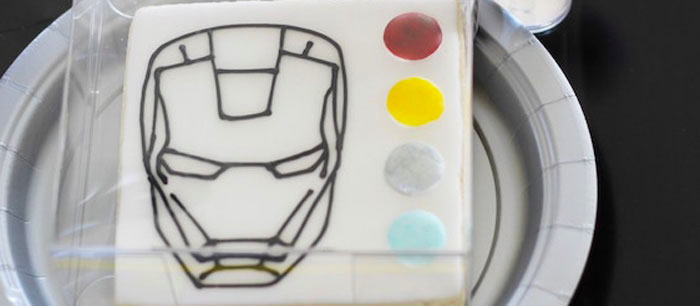 Iron Man + Hulk & Spiderman Superhero Birthday Party on Kara's Party Ideas | KarasPartyIdeas.com (1)