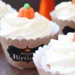 Little Pumpkin Fall Birthday Party on Kara's Party Ideas | KarasPartyIdeas.com (1)