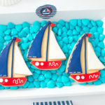 Little Sailor Nautical Baby Shower on Kara's Party Ideas | KarasPartyIdeas.com (1)