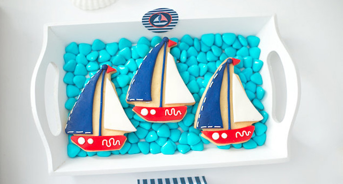 Little Sailor Nautical Baby Shower on Kara's Party Ideas | KarasPartyIdeas.com (1)