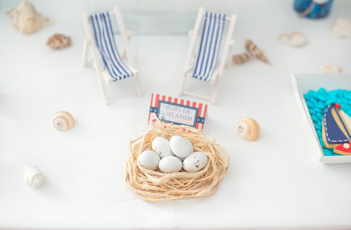Nest from a Little Sailor Nautical Baby Shower on Kara's Party Ideas | KarasPartyIdeas.com (16)