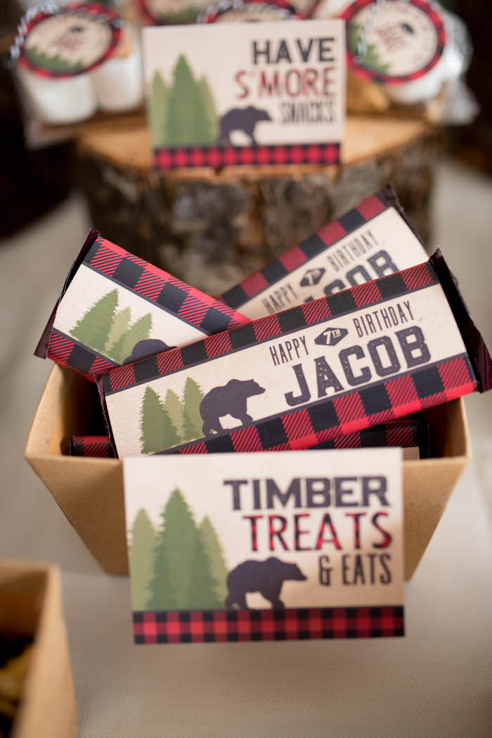 Lumberjack party quotes