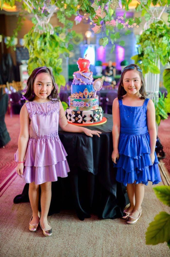 Cake from a Maleficent Birthday Party on Kara's Party Ideas | KarasPartyIdeas.com (12)