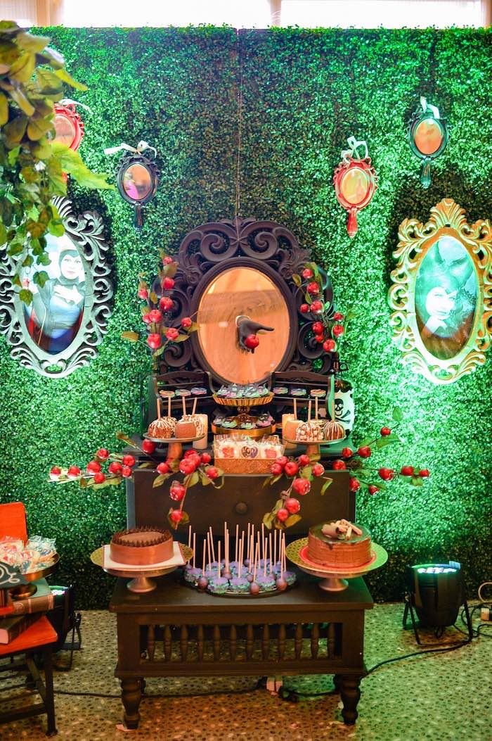 Dessert table from a Maleficent Birthday Party on Kara's Party Ideas | KarasPartyIdeas.com (11)