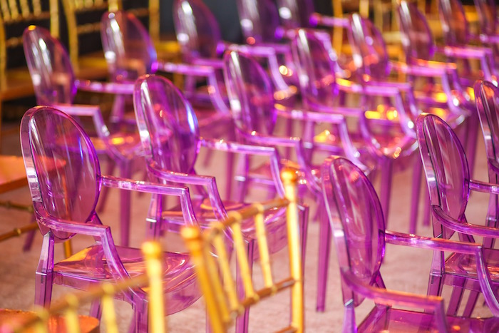 Purple ghost chairs from a Maleficent Birthday Party on Kara's Party Ideas | KarasPartyIdeas.com (35)