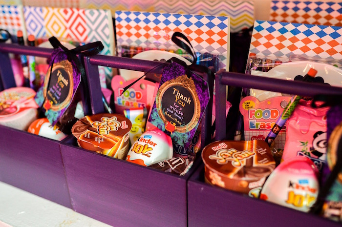 Favor boxes from a Maleficent Birthday Party on Kara's Party Ideas | KarasPartyIdeas.com (6)