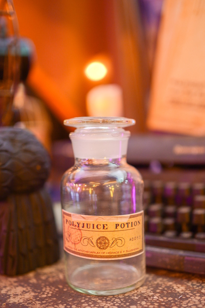 Potion bottle from a Maleficent Birthday Party on Kara's Party Ideas | KarasPartyIdeas.com (28)