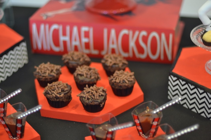 Mini chocolate sweets from a Michael Jackson Birthday Party on Kara's Party Ideas | KarasPartyIdeas.com (5)