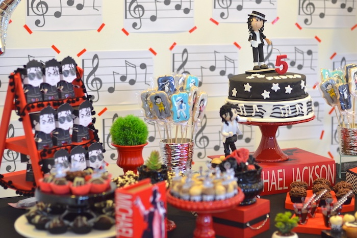 Karas Party Ideas Michael Jackson Birthday Party  Karas Party Ideas