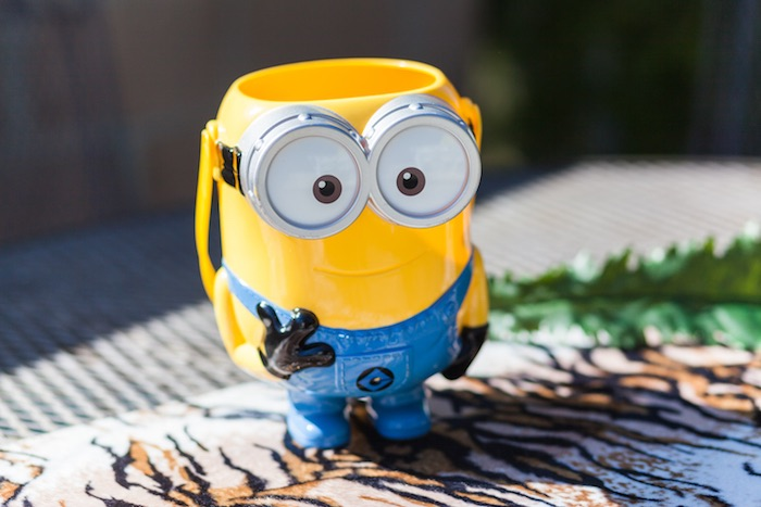 Minion cup from a Minions Gone Bananas Birthday Party on Kara's Party Ideas | KarasPartyIdeas.com (21)
