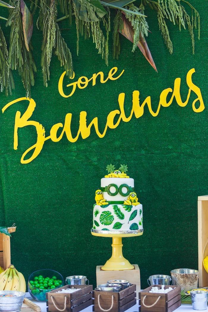 Minions Gone Bananas Birthday Party on Kara's Party Ideas | KarasPartyIdeas.com (12)
