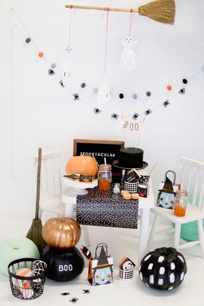 Modern Glam Halloween Party for Kids on Kara's Party Ideas | KarasPartyIdeas.com (19)