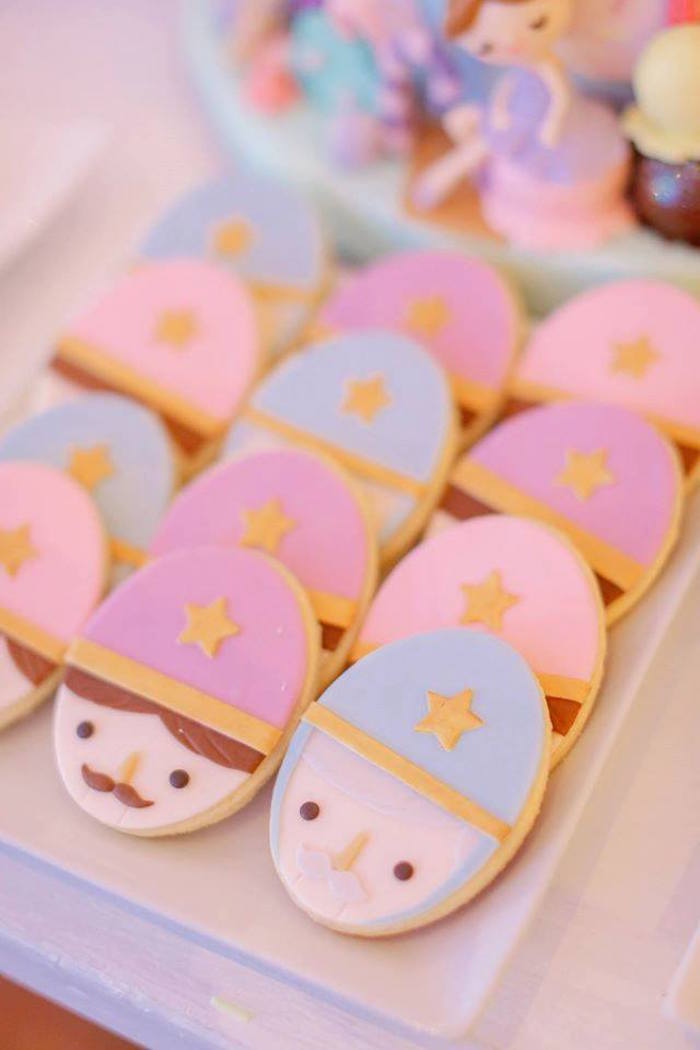 Nutcracker cookies from a Nutcracker Ballerina Birthday Party on Kara's Party Ideas | KarasPartyIdeas.com (39)