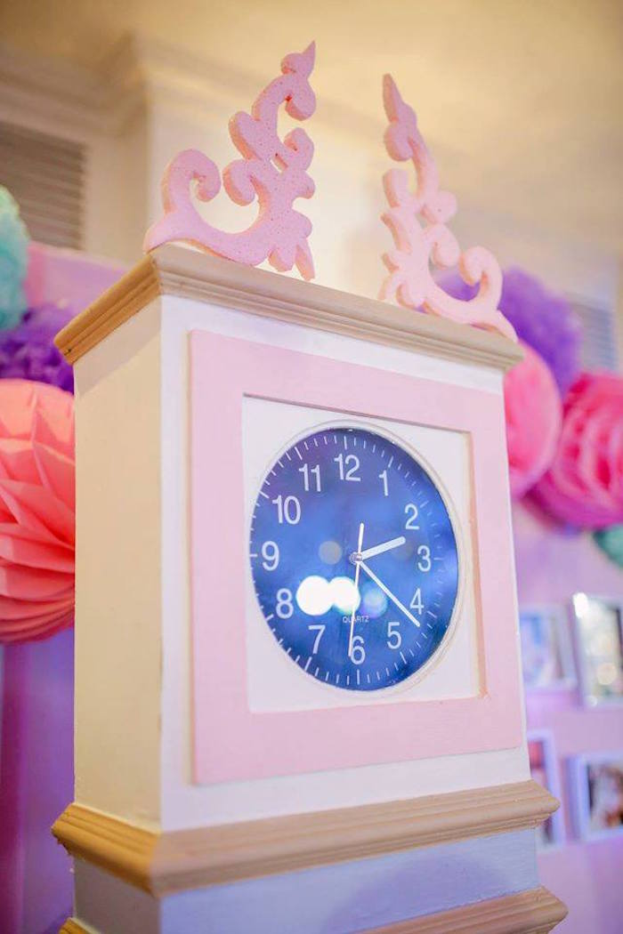 Clock from a Nutcracker Ballerina Birthday Party on Kara's Party Ideas | KarasPartyIdeas.com (36)