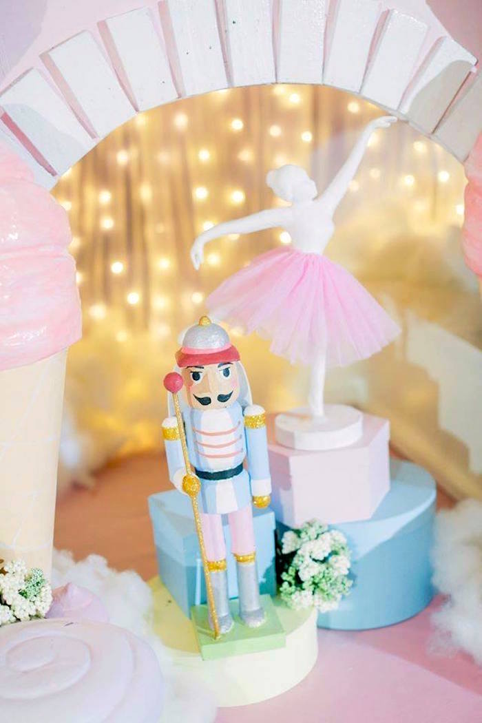 Nutcracker and ferry from a Nutcracker Ballerina Birthday Party on Kara's Party Ideas | KarasPartyIdeas.com (29)