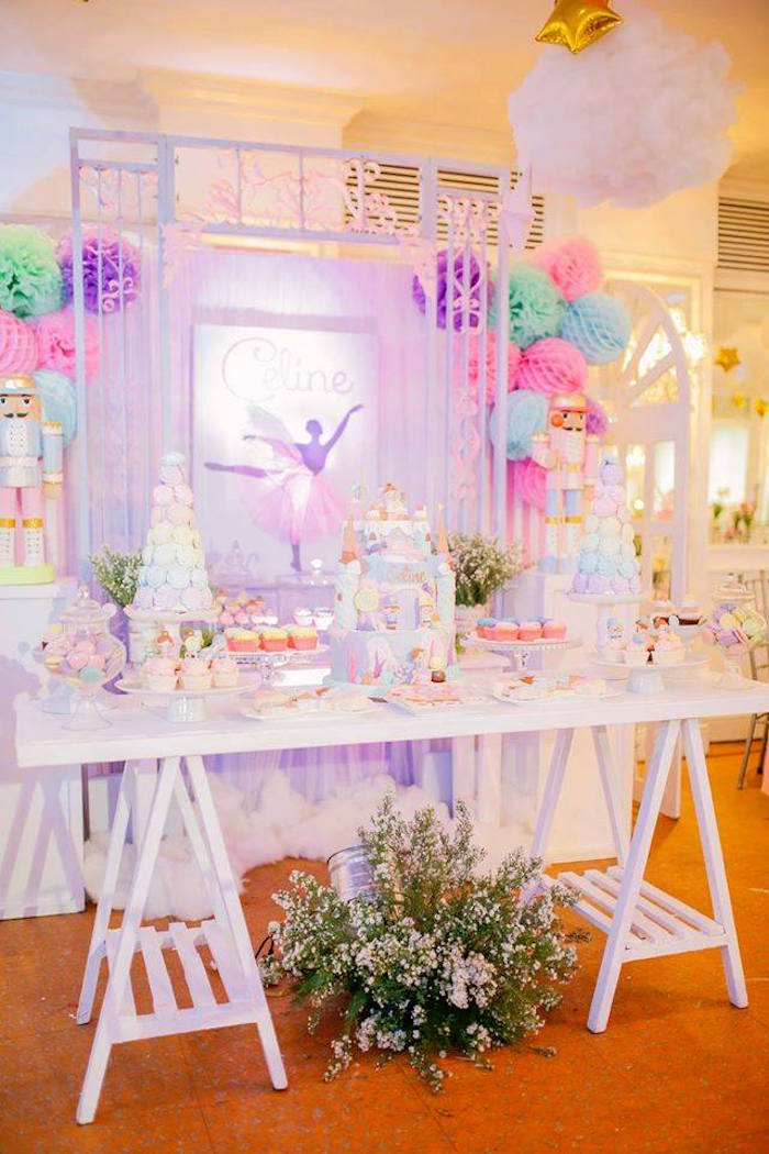 Nutcracker Ballerina Birthday Party on Kara's Party Ideas | KarasPartyIdeas.com (52)