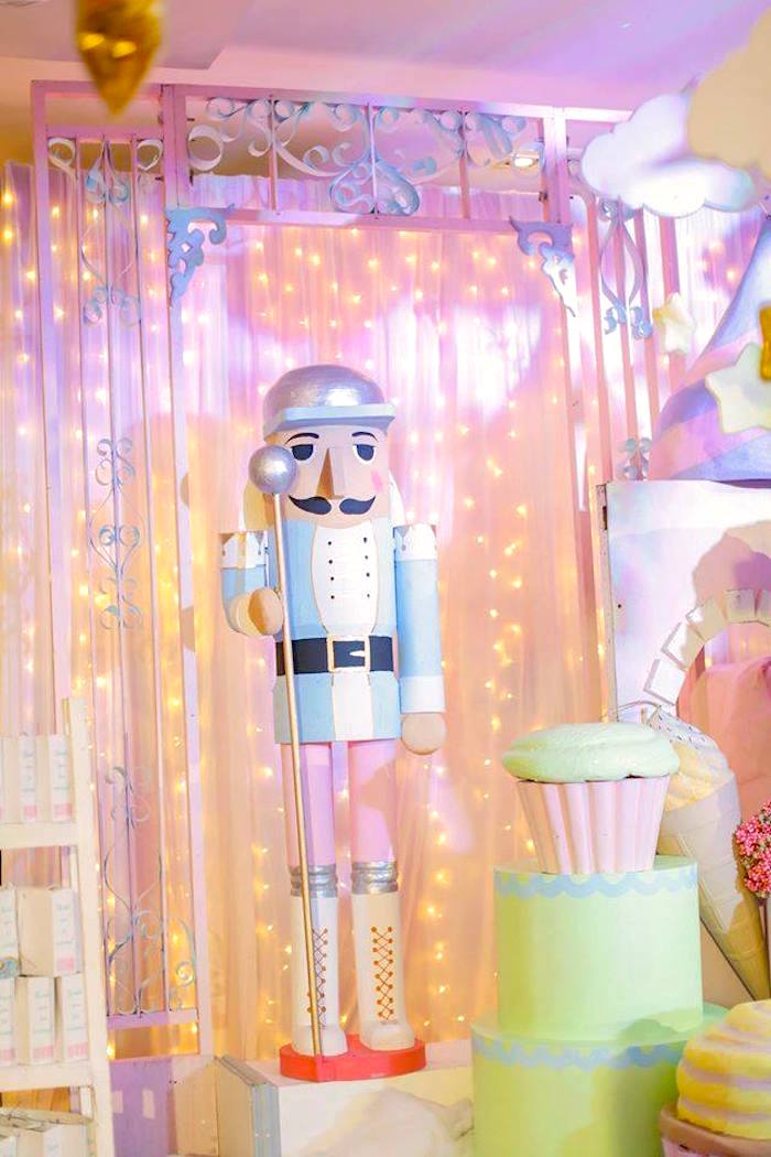 Nutcracker from a Ballerina Birthday Party on Kara's Party Ideas | KarasPartyIdeas.com (15)