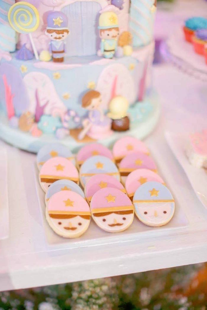 Nutcracker cookies from a Nutcracker Ballerina Birthday Party on Kara's Party Ideas | KarasPartyIdeas.com (51)