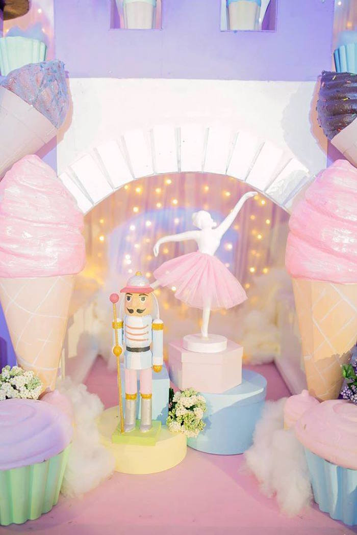 Nutcracker Ballerina Birthday Party on Kara's Party Ideas | KarasPartyIdeas.com (50)