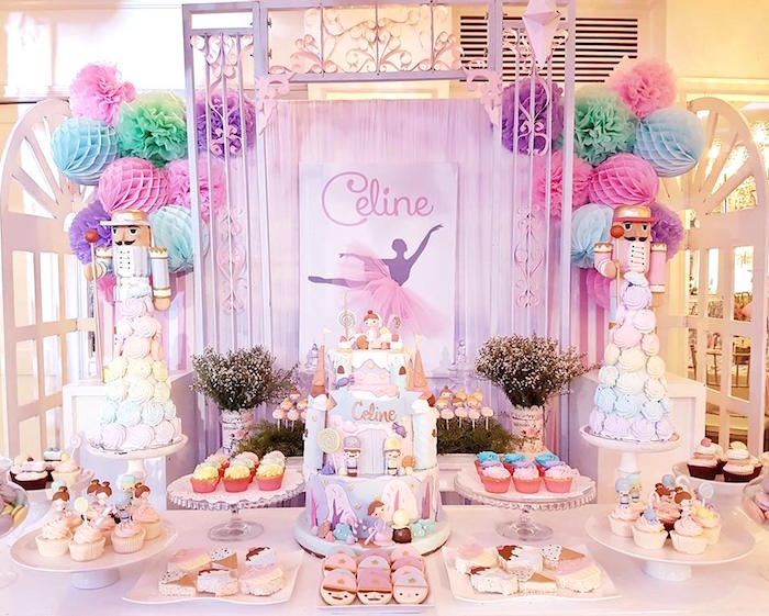 Nutcracker Ballerina Birthday Party on Kara's Party Ideas | KarasPartyIdeas.com (4)