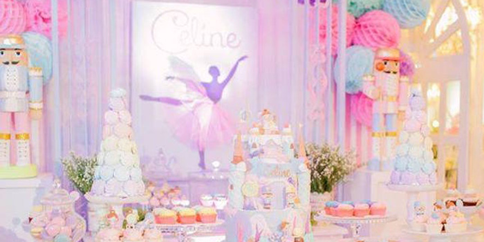 Kara S Party Ideas Nutcracker Ballerina Birthday Party