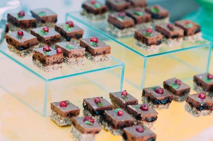 Fruit tarts from an Outdoor Brunch Birthday Party on Kara's Party Ideas | KarasPartyIdeas.com (26)