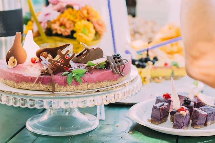 Cake Sweets From An Outdoor Brunch Birthday Party On Karas Ideas