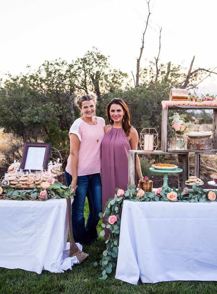 Detail from an Outdoor Vintage Vow Renewal on Kara's Party Ideas   KarasPartyIdeas.com (13)